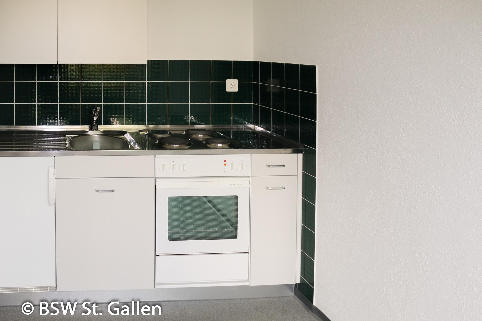Wohnung zum Mieten: Kanton St. Gallen | 1 - 1.5 Zimmer